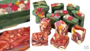 květinové mýdlo 1